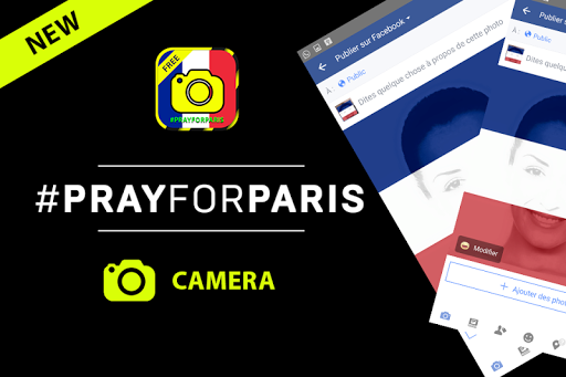 PrayForParis Camera
