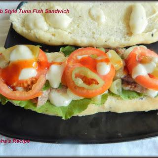Sub Style Tuna Fish Sandwich#FishFriday Recipe