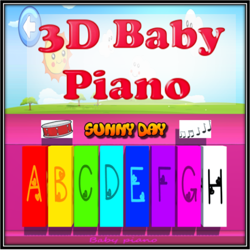 3D Baby piano
