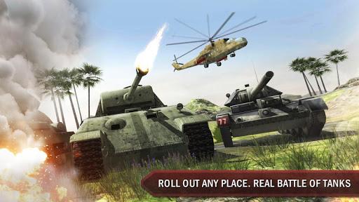 Tank War Blitz 3D captures d'u00e9cran 2