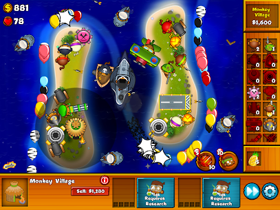 Bloons Monkey City Mod Apk Download For Android and Iphone 7