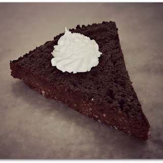 Chocolate Chestnut Torte with Amaretto