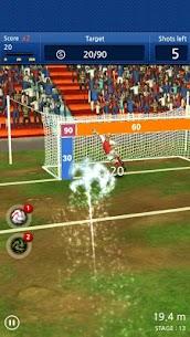 Finger soccer : Football kick 3