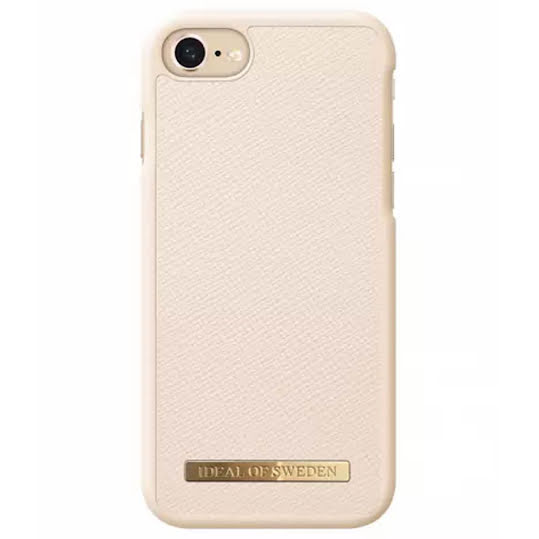 iDeal Fashion Case Saffiano för iPhone 6-6S-7-8 - Beige