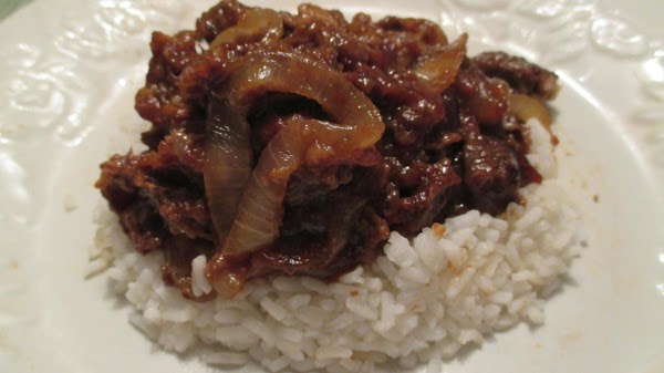 Baked Steak And Onions Recipe