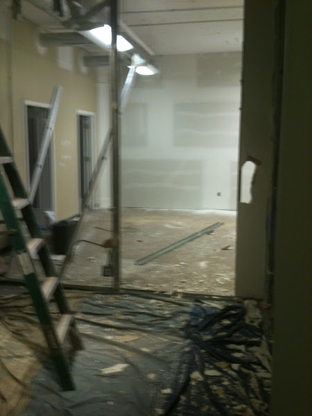 Photo: Tearing down walls!