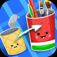 ゴミ箱のソート - DIY Crafts Game