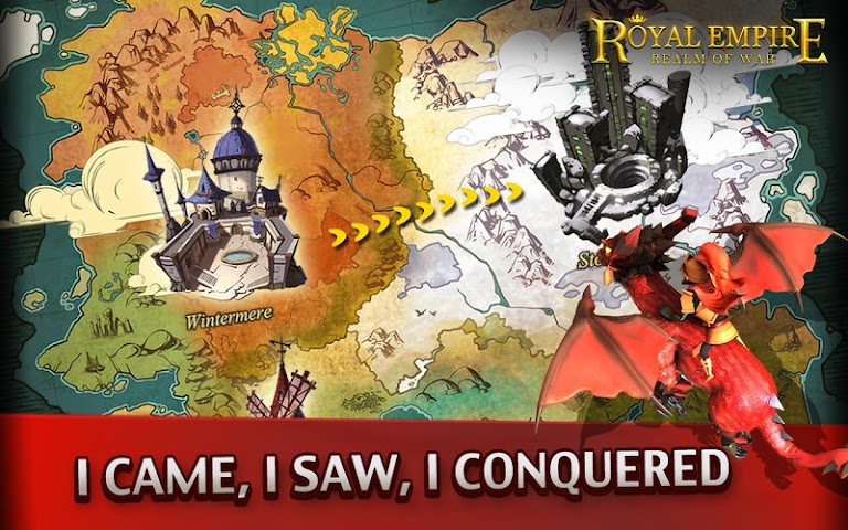 android Royal Empire: Realm of War Screenshot 4