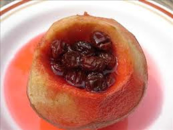 Baked Apples With Red Hots Recipe