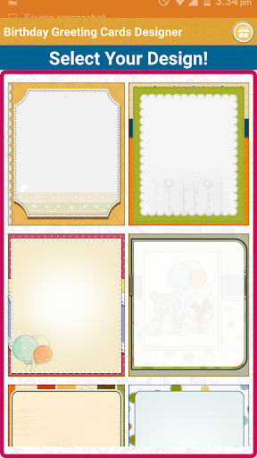 Birthday Greeting Cards Maker  screenshots 1