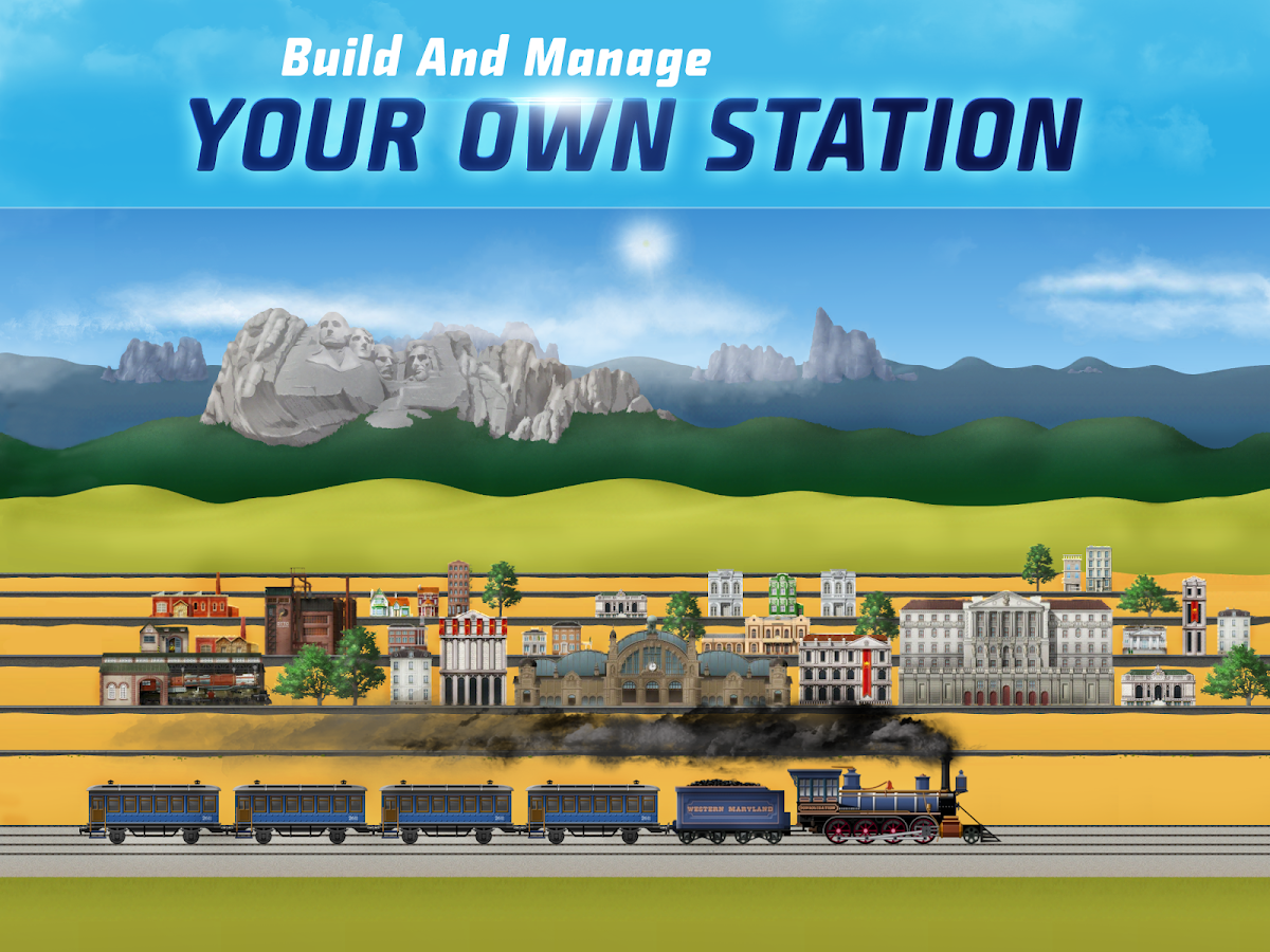 TrainStation Game On Rails Android Apps On Google Play