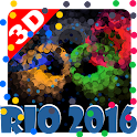 3D Rio 2016 Olympic Games LWP icon