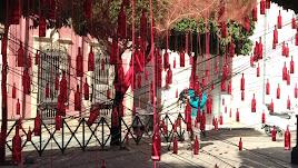 La Plaza Campoamor vuelve a engalanarse por San Valentín.