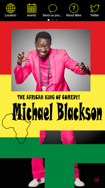 Michael Blackson- screenshot