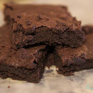 Classic Gluten Free Brownies.