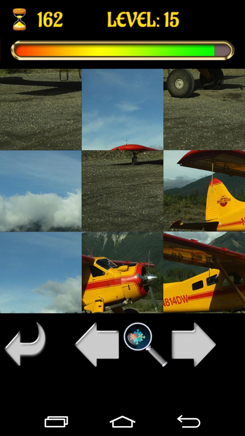 Скриншот Самолёты Пазл
