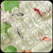 Live Koi Fish Keyboard Theme