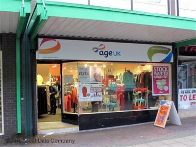 Age UK on Bennett Precinct - Charity Shops in Longton, Stoke