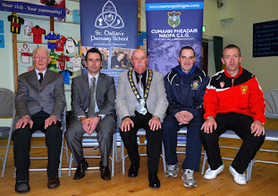Photo: guests at St Dallan's GAA Health and Wellbeing Day