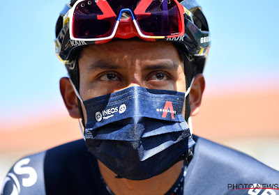Egan Bernal kijkt uit naar Giro maar weet nu al dat hij de rest van het jaar met rugpijn moet leven
