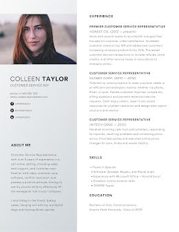 Colleen F. Taylor - Resume item
