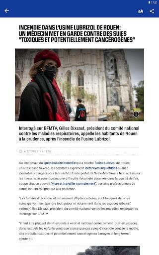 BFMTV - Actualitu00e9s France et monde & alertes info 4.2.5 Screenshots 11