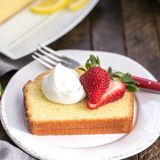 Glazed Lemon Pound Cake.