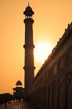 Photo: Sunrise at the Taj Mahal.  #sunrisesaturday (curated by +Josh Davis) #silhouettesaturday (curated by +Naila Ziani)