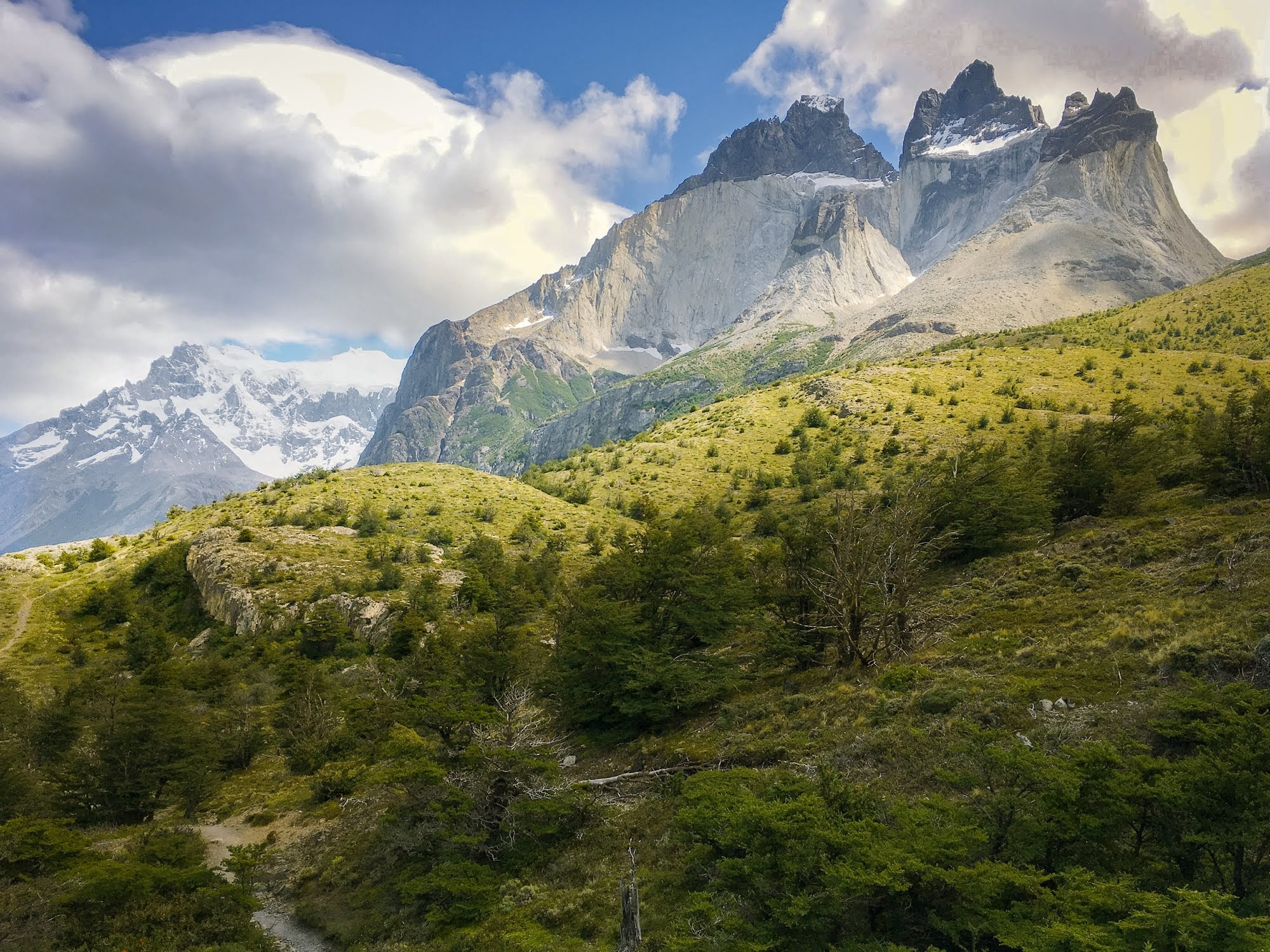 Los Cuernos - or The Horns, one of W Trek's most recognizable landmarks.