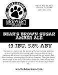 Uncle Bear's Brown Sugar Amber Ale