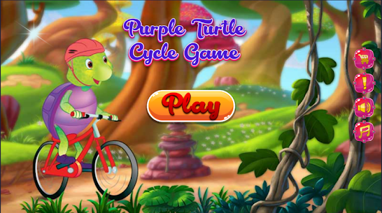 Purple Turtle Cycle Game 1.0.5 Android Mod APK 1