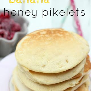 Banana Honey Pikelets