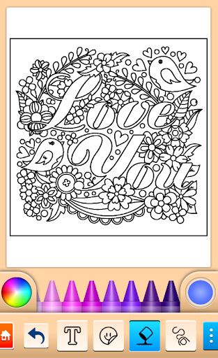 Valentines love coloring book filehippodl screenshot 1