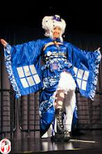 Photo: Asian-Fusion Tardis Costume (Custom Ordered)