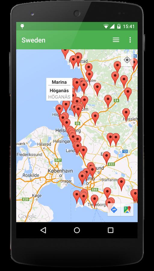Stellplatz Scandinavia- screenshot