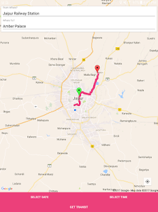 Jaipur Guide-Bus,Metro,Tourist - náhled