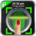 Finger Print Lock Screen Prank icon