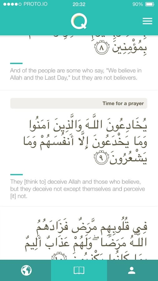Read, Learn and Join Quran Events- screenshot