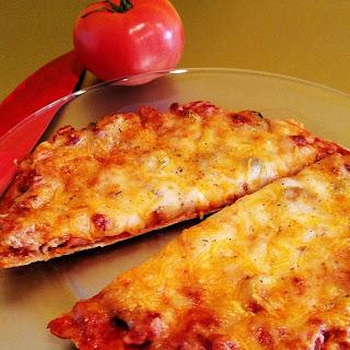Individual Chicken Sausage Tortilla Pizzas