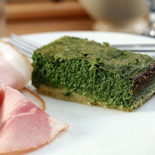 Dave T's Spinach Cake.