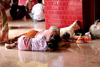 Photo: Year 2 Day 55 - Busy Sleeping in Mahamuni Paya