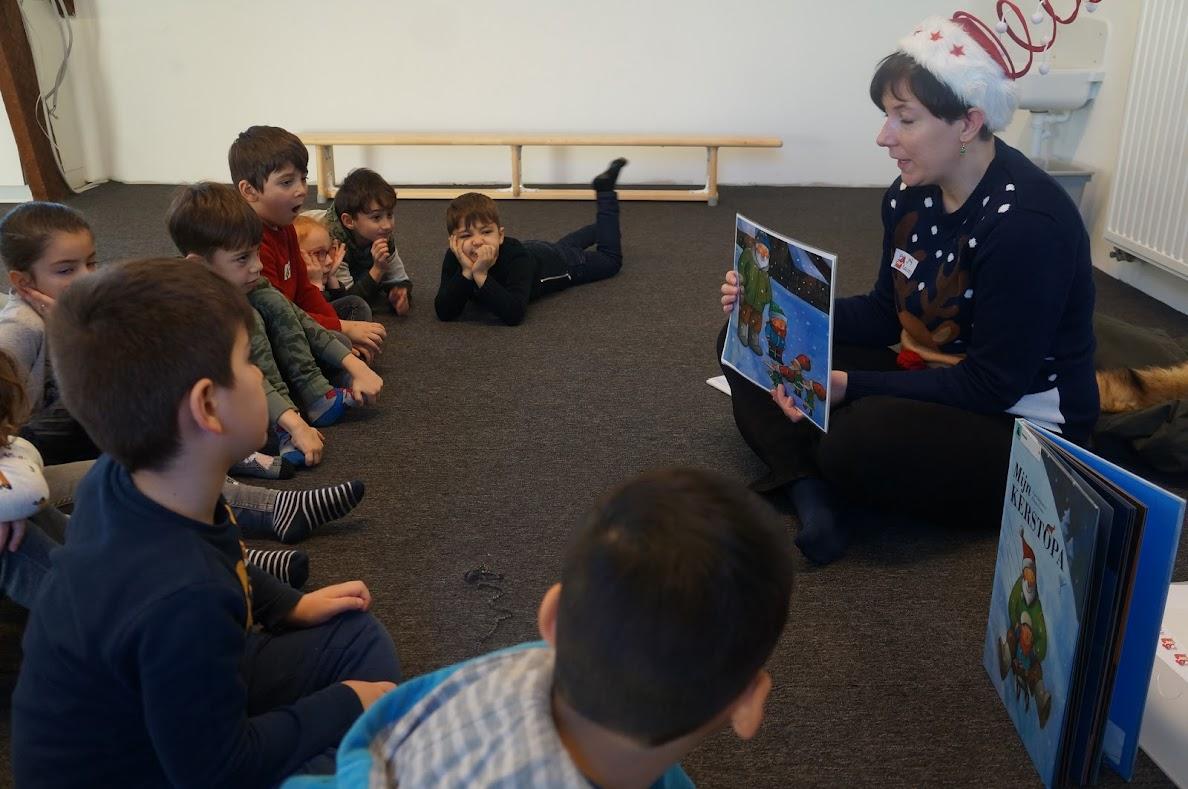 Samenspeeldag 5-jarige kleuters en eersteklassers
