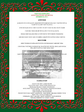 Photo: Christmas Dinner Menu