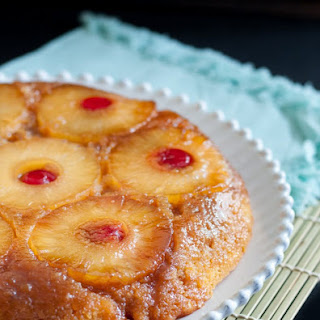 Pinapple Upside Down Cake From Scratch