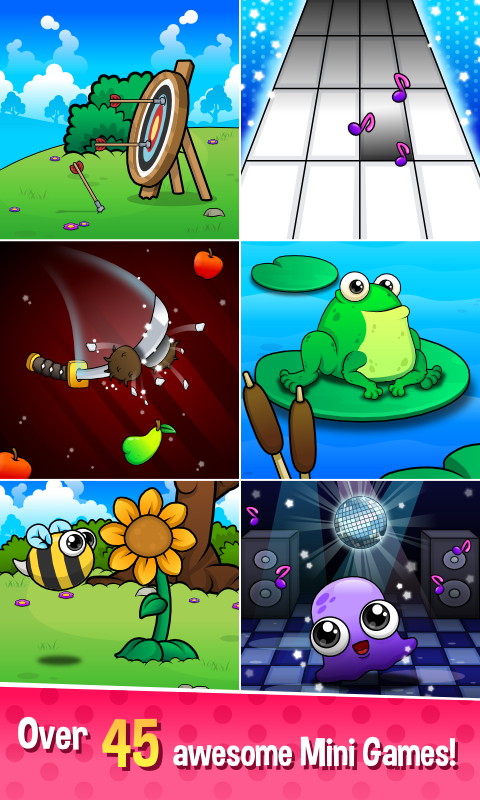 Moy 5 🐙 Virtual Pet Game- screenshot