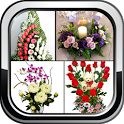 DIY Flower Arrangement Home Wedding Flower Decor icon