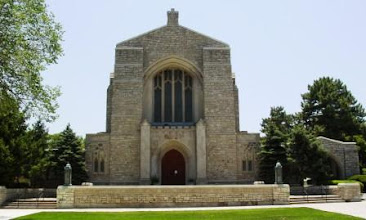 Photo: Dad designed St. Peter's Church on Meyer and Holmes in Kansas City in the late 40's.