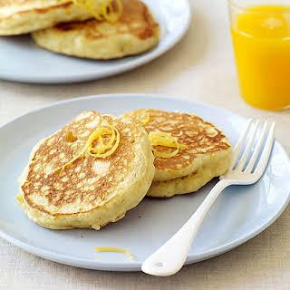 Fluffy Lemon-Ricotta Pancakes.