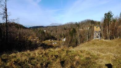 Photo: če bom slučajno še kdaj šel na Rojčev vrh bom vsekakor izbral pot mimo lovske opazovalnice na sliki , ki je v bližini mojega izhodišča