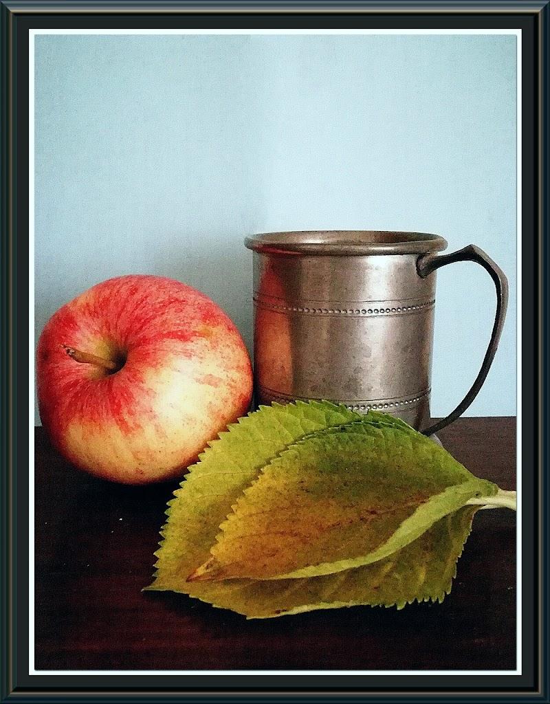 """""""Still life con mela"""" Paola Vergine olio su tela di alessiag2473"""